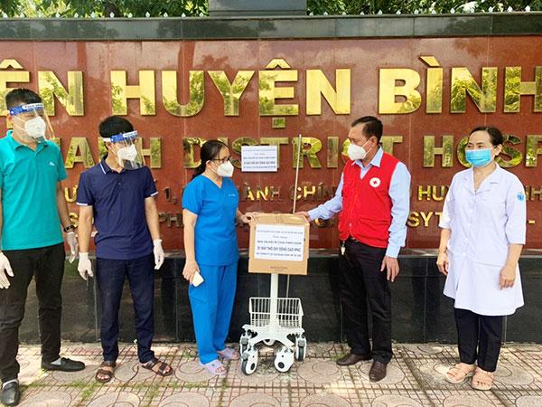 Chữ thập đỏ TP. Hồ Chí Minh - Hậu phương vững chắc trong công tác vận động hỗ trợ lực lượng tuyến đầu chống dịch